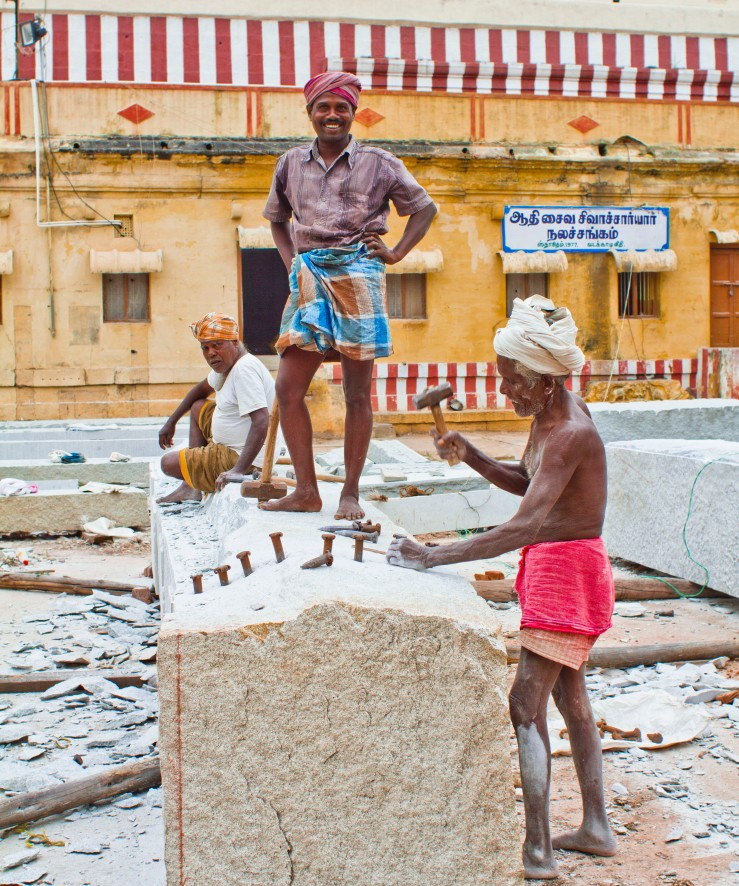 Temple Workers