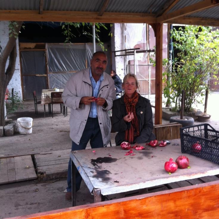 Sampling Pomegranates